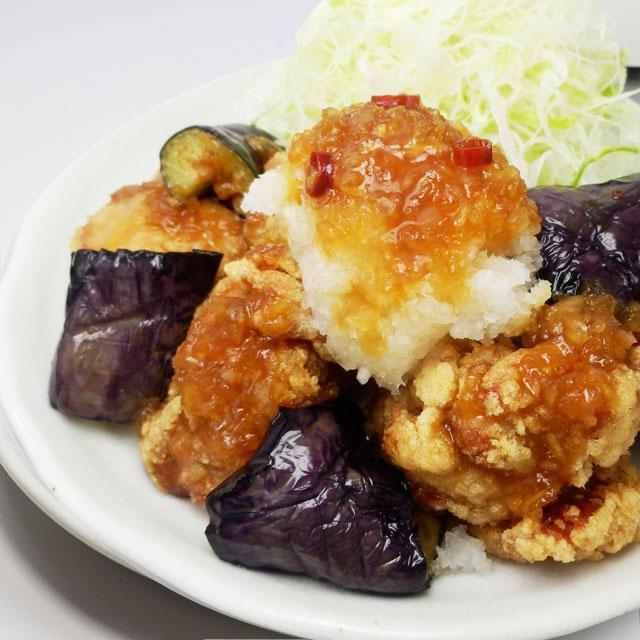 甘酢おろしの鶏から定食