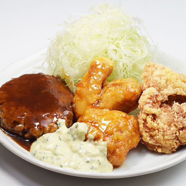 チキン南蛮ミックス定食